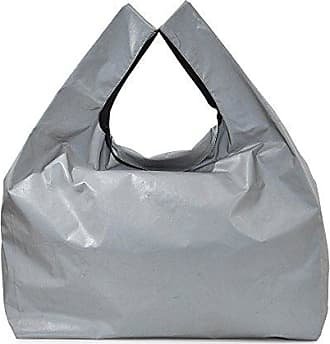 Large Shopper Tasche aus schwarzem Kalbsleder Maison Martin Margiela