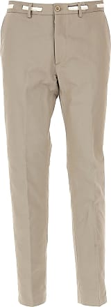 Pants for Men On Sale, Camel, Cotton, 2017, 34 36 Maison Martin Margiela
