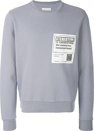 distressed jumper - Grey Maison Martin Margiela