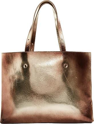Shopper Tasche mit silber Schlangenmuster aus Synthetik Leder Maison Martin Margiela