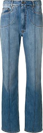 stripe detail straight leg jeans - Blue Maison Martin Margiela