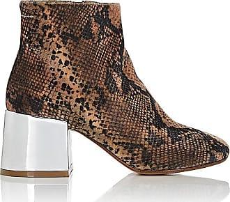 Beaded Glitter Ankle Boots - IT35 / Fuchsia Maison Martin Margiela