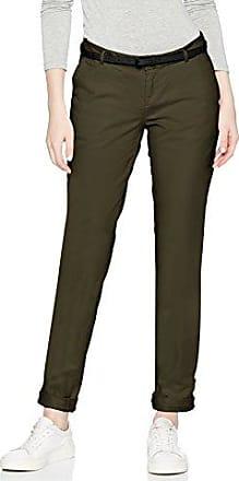 Maison Tapered Leg Tailored Pants, Sold with A Belt, Pantalon Femme, Bleu-Blau (Night 02), 40 W/40 LScotch & Soda