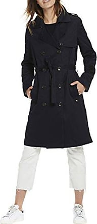 Scotch&Soda Maison Classic Summer with Various Special Lining Artwo, Trench Coat Femme, Blau (Night 02), 40