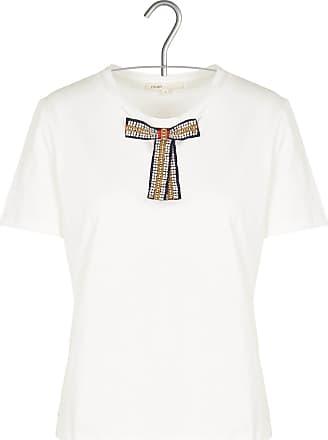 Baumwoll-T-Shirt mit Volantärmeln Maje