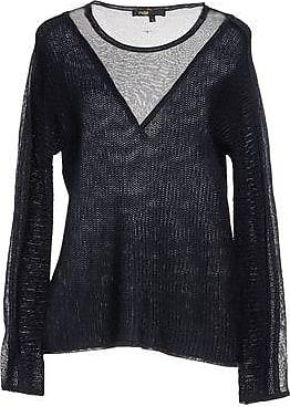 Weiter Grobstrick-Pullover Maje