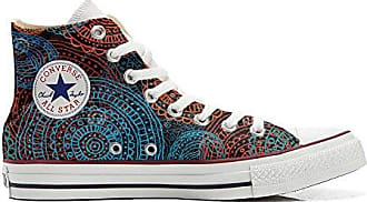 Converse Custom Slim personalisierte Schuhe (Handwerk Produkt) Back Groud Abstract  35 EU