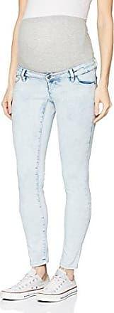 Mlveria Slim Light Blue Jeans B, Pantalons-Maternité Femme, Bleu (Light Blue Denim), No Aplica (Taille Fabricant: W33/L32 33)Mama Licious