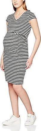 Mama Licious MLBLACKIE Cap Sleeve Jersey Dress - STR, Vestido Mujer, Negro (Black), 40 (Talla del Fabricante: Large)