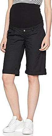 Mama Licious Mlbethune Woven Shorts, Pantalones Cortos Premamá para Mujer, Negro (Black Iris Black Iris), Large