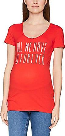 Q/S designed by 41708324767, Camiseta para Mujer, Blau (Blueprint Placed Print 56D0), X-Large