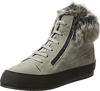 Cavalese - Zapatos Planos con Cordones Mujer, Color Gris, Talla 38 Manas