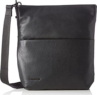 Mellow Leather Tracolla, Womens Shoulder Bag, Black (Nero), 14x28x38 cm (B x H T) Mandarina Duck