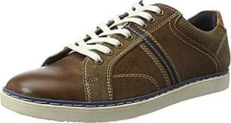 Manitu 660391, Zapatos de Cordones Brogue para Hombre, Blau (Blau), 43 EU
