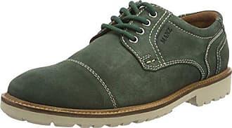 Comfort Strobel, Zapatos de Cordones Derby para Hombre, Azul (Dunkelblau 047), 41 EU Manz