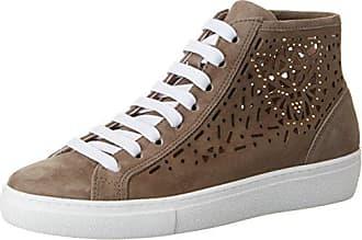 Marc Cain JB SH.39 L65, Zapatillas para Mujer, Plateado (Silver 800), 36 EU