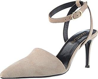 Marc Cain JB SD.13 L18, Zapatos con Tira de Tobillo para Mujer, Rojo (Tan 208), 38 EU