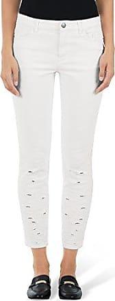 James Jeans Vaqueros para mujer, talla W26/L34 (ES 36), color blanco (frost white)