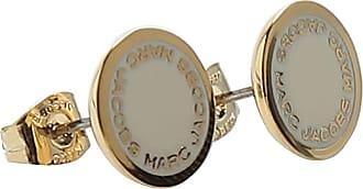 Marc Jacobs Earrings for Women, Pea Green, Enamel Stainless Steel, 2017, One Size