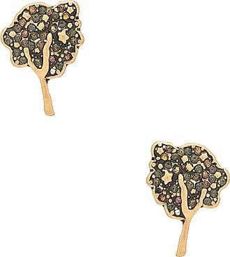 Marc Jacobs Charms Beetle Stud Earrings in Metallic Gold
