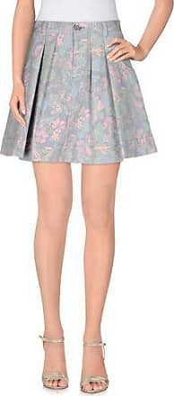 Marc By Marc Jacobs Woman Moulded Tulle-trimmed Printed Taffeta Mini Skirt Gray Size 2 Marc Jacobs