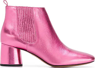 Chelsea boots - Pink & Purple Hussein Chalayan