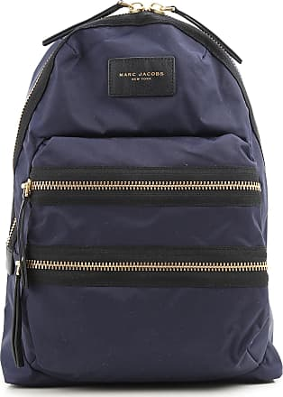 Backpack for Women, Black, Leather, 2017, one size Marc Jacobs