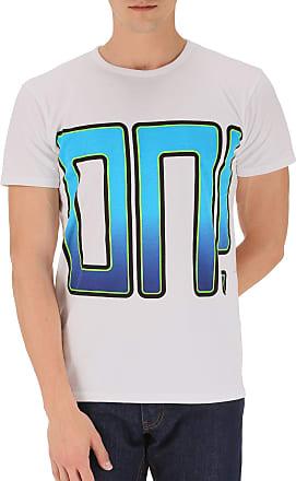 Camiseta de Hombre Baratos en Rebajas, Blanco, Algodon, 2017, XL XS Marc Jacobs