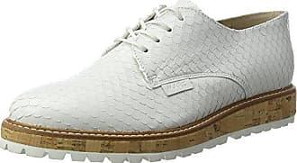 Peter Kaiser Emilie, Zapatos de Cordones Derby para Mujer, Wei? (Weiss Pin Topas Sohle), 39 EU