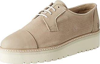 Marc O'Polo Lace Up Shoe 80114453401102, Zapatos de Cordones Oxford para Mujer, Orange (Apricot), 38 EU