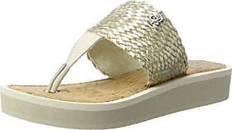 Damen 70314031004607 Beach Sandal, Elfenbein (Champange), 41 EU Marc O'Polo