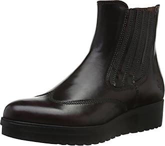 Marc O' Polo Chelsea, Bottines à Doublure Froide FemmeRougeRot (Bordo 375), Taille 40