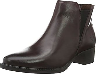 Marc O' Polo Mid Heel Bootie, Bottes Classiques FemmeRougeRot (Wine 385), 41