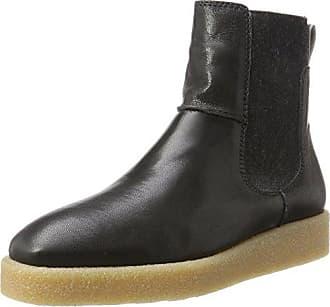 Flat Heel 70814195001309, Chelsea Boots Femme, Gris Foncé, 40 EUMarc O'Polo