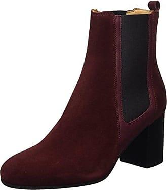 Marc O' Polo Flat Heel 70814245001125, Chelsea Boots Femme, (Bordeaux), 38 EU