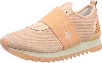Marc O'Polo Damen Sneaker 80114413501103, Beige (Sand), 40 EU
