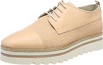 70113843401200 Lace Up - Zapatos Planos con Cordones Mujer, Color Azul, Talla 39 Marc O'Polo