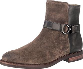 Marc O'Polo Damen Flat Heel Bootie 70914296001304 Schlupfstiefel, Braun (Taupe), 38 EU