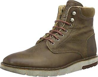 Marc O'Polo Lace Up Shoe 80114453401102, Zapatos de Cordones Oxford para Mujer, Gris (Taupe), 41 EU