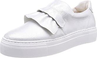 Verano zapatos ocasionales de los hombres coreanos/Zapatos de tendencia/Zapatillas de encaje/Ayudar a los estudiantes con baja zapatos blancos-A Longitud del pie=26.3CM(10.4Inch)