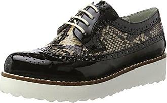 Luna, Zapatos de Cordones Derby para Mujer, Gris (Grau 00227), 40 EU Marc