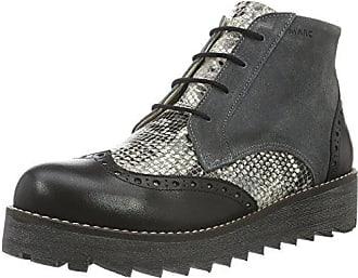 Marc Shoes Edina, Zapatillas de Estar por Casa para Mujer, Gris-Grau (Grey-Combi 00116), 37 EU