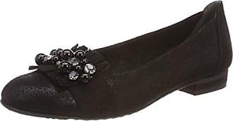 22130, Ballerines Femme, Noir (Black Comb), 39 EUMarco Tozzi