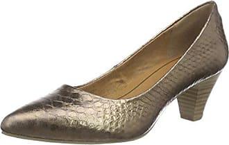 22434, Zapatos de Tacón para Mujer, Marrón (Pepper Antic), 37 EU Marco Tozzi