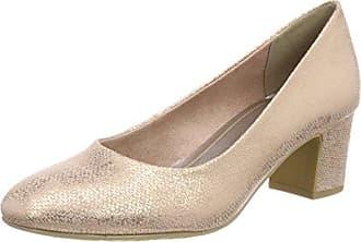 22426, Zapatos de Tacón para Mujer, Rosa (Rose Metallic), 40 EU Marco Tozzi