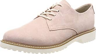 23725, Scarpe Stringate Oxford Donna, Marrone (Pepper Struct.), 37 EU Marco Tozzi