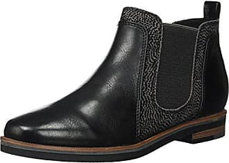 Marco Tozzi Damen 25051 Chelsea Boots, Schwarz (Black), 36 EU