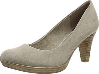 22411, Zapatos de Tacón para Mujer, Marrón (Pepper), 38 EU Marco Tozzi