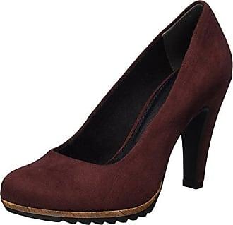Marco Tozzi Premio 22447, Zapatos de Tacón para Mujer, Negro (Black Str.Comb), 37 EU