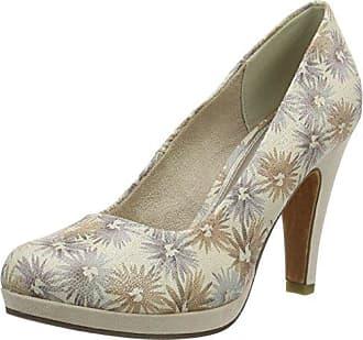 Marco Tozzi 22423, Zapatos de Tacón Para Mujer, Azul (Azure), 38 EU